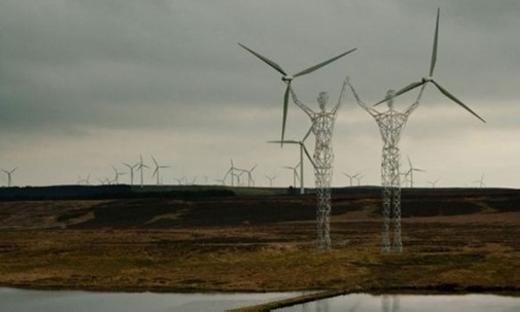 Được biết, đây là dự án giúptái tạo năng lượng bằng việc thiết kế những tua-bin gió. (Ảnh: Internet)