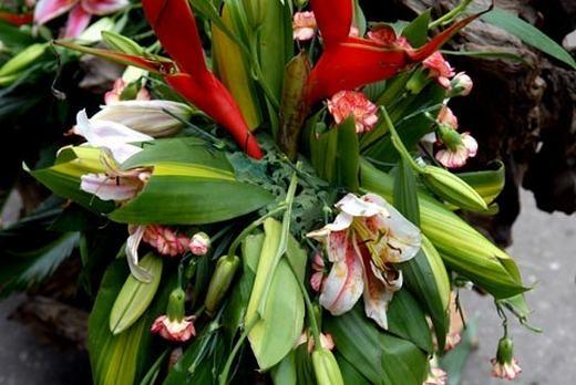 Nếu hoa của bạn đã bị héo mà muốn tươi trở lại, hãyngâm phần gốcvào trong nước nóng và giữ như vậy đến khi nguội hẳn. Sau đó, ta cắt bỏ phần đã nhúng rồi cắm hoa trở lại trong nước lạnh. Cách này sẽ làmhoa tươi thêm một thời gian nữa. (Ảnh: Internet)