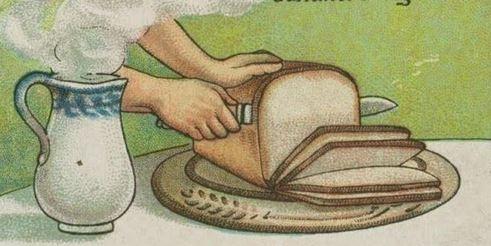 Bạn muốn cắt bánh mì thành những lát mỏng?Hãynhúng dao vào nước nóng, đến khi nào con dao nóng theo thì dùng nó để cắt bánh mì thật nhanh. (Ảnh: Internet)
