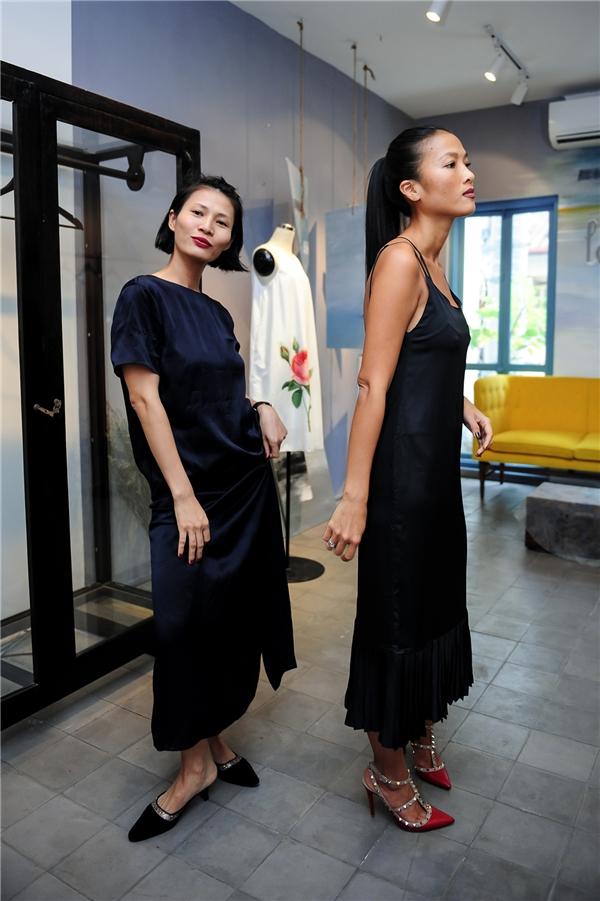 Trở lại quê hương lần này, cô chỉ góp mặt trong show diễn của NTK Li Lam để ủng hộ người bạn thân lâu năm.