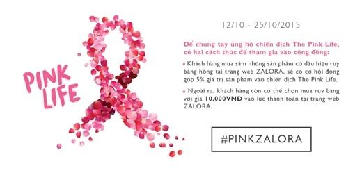 """""""The Pink Life"""" - Tô lại sắc hồng cho bệnh nhân ung thư vú"""
