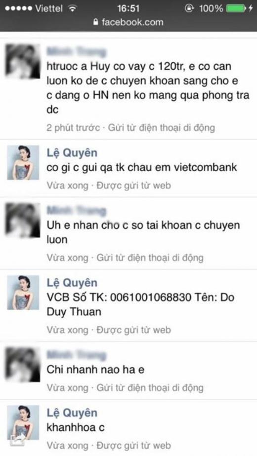 Đoạn đối thoại giữa một người bạn của nữ ca sĩ và tên hacker. - Tin sao Viet - Tin tuc sao Viet - Scandal sao Viet - Tin tuc cua Sao - Tin cua Sao
