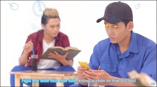 """Xuất hiện hài hước trong MV, các chàng trai đã """"hớp hồn"""" mọi fan nữ ngay từ những giây phút đầu của clip. - Tin sao Viet - Tin tuc sao Viet - Scandal sao Viet - Tin tuc cua Sao - Tin cua Sao"""