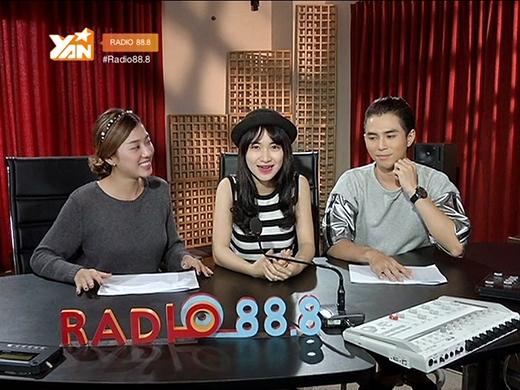 Hòa Minzytrở thành khách mời tiếp theo củaRadio 88.8.
