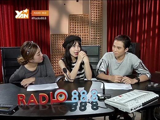 Hòa Minzy đã có những giây phút chia sẻ thật sự cảm động với Yumi và Willvề con đường ca hát của mình.