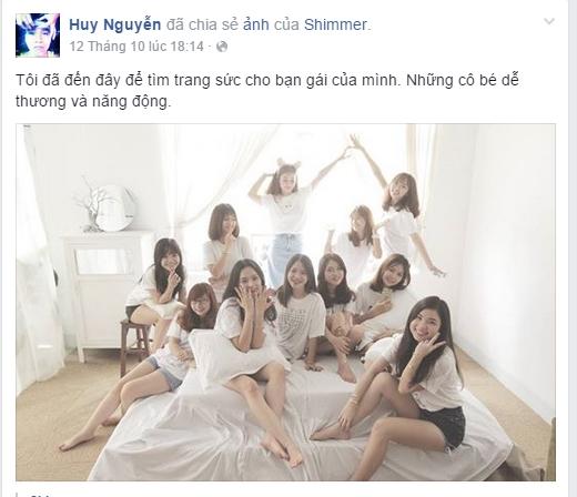 Dàn nhân viên 9x xinh như nhóm nhạc Hàn Quốc gây sốt cộng đồng mạng. (Ảnh: FBNV)