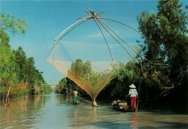 Sông nước An Giang.(Nguồn: Internet)
