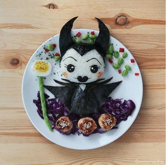 Bạn có nỡ ăn nàng tiên hắc ám Maleficent này không?