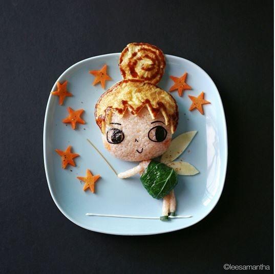 Nàng tiên bé nhỏ Tinker Bell trong Peter Pan.