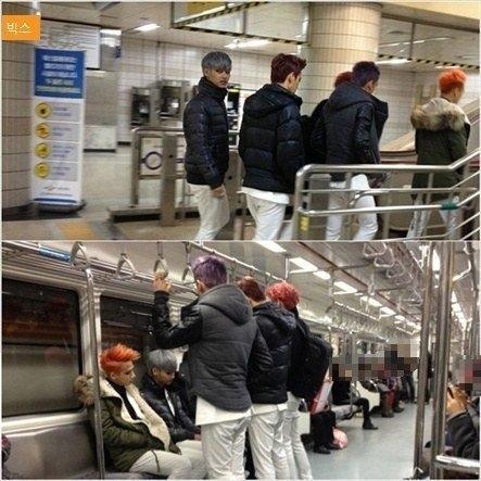 Khi thần tượng Kpop dùng phương tiện công cộng như thường dân