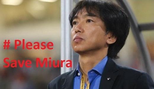 Fan Thái Lan lập chiến dịch bảo vệ… HLV Miura