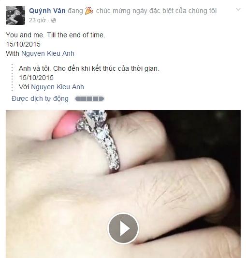 Đoạn clip quay chiếc nhẫn kim cương khủng. - Tin sao Viet - Tin tuc sao Viet - Scandal sao Viet - Tin tuc cua Sao - Tin cua Sao