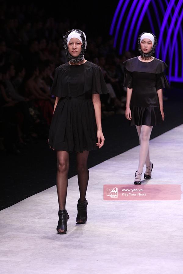 Ấn tượng mạnh với mẫu nam diện yếm và áo xuyên thấu tại VIFW 2015