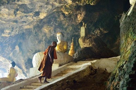 Hay thử tìm đếnMyanmar, ghé thăm hang động Yathay Pyan ở Hpa-An đầy bí ẩn như một cú đổi gió ngoạn mục.(Nguồn Internet)