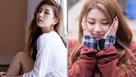 """Khác với hình tượng trong sáng đáng yêu thường thấy của """"em gái quốc dân"""", Suzy (MissA)khi theo đuổi phong cách quyến rũ cũng khiến người hâm mộ thích thú không kém."""