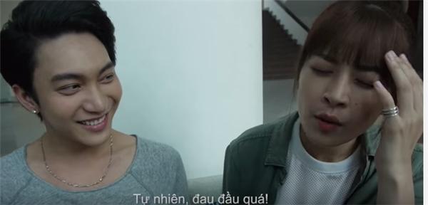 Chi Pu bất ngờ 'mất trí nhớ' trên phim trường