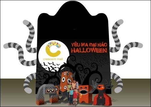Yêu ma đại náo Halloween tại Crescent Mall