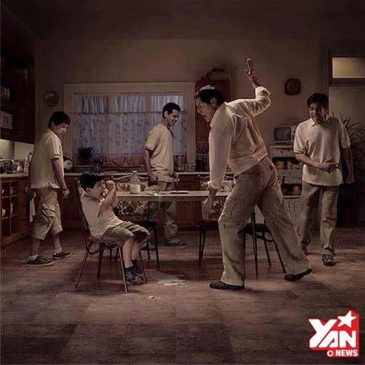 Bạo lực gia đình là một vòng tròn không hồi kết!