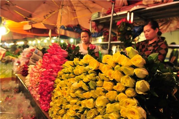 Những ngày này, hoa thường có giá đắt hơn bình thường như hoa hướng dương có giá 170.000/ bó (10 bông nhỏ), hoa tulip vượt ngưỡng 200.000/bó (50 bông), hoa ly 150.000/bó (10 bông)…