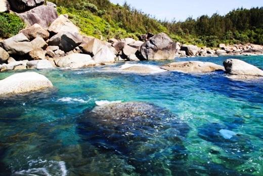 Biển Dung Quất đẹp mê hồn.(Nguồn: Internet)