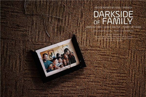 Lặng người với bộ ảnh những Góc khuất trong gia đình