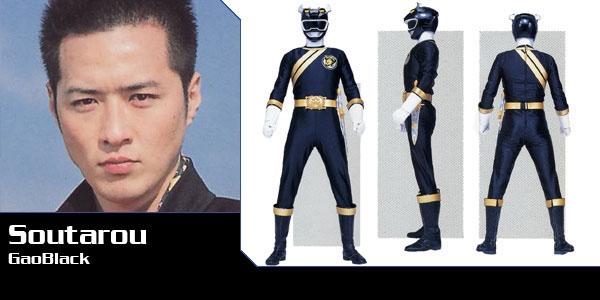 Gao Đen - Kazuyoshi Sakai: Khác với nhiều diễn viên vốn khởi đầu từ loạt phim Sentai, Kazuyoshi trước khi tham gia Gaoranger đã là một diễn viên có nhiều kinh nghiệm, anh từng vào một vai nhỏ trong bộ phim Mỹ The Thin Red Line (1998).