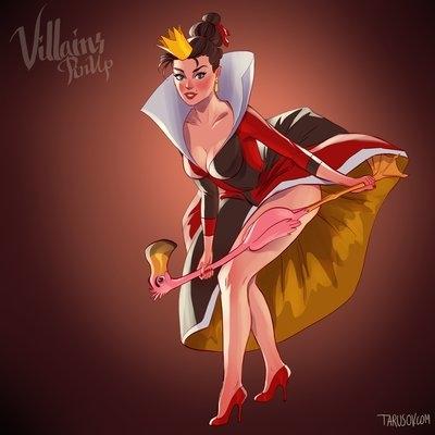 Hoàng hậu đỏ trong bộ phim Alice Ở Xứ Sở Thần Tiên.