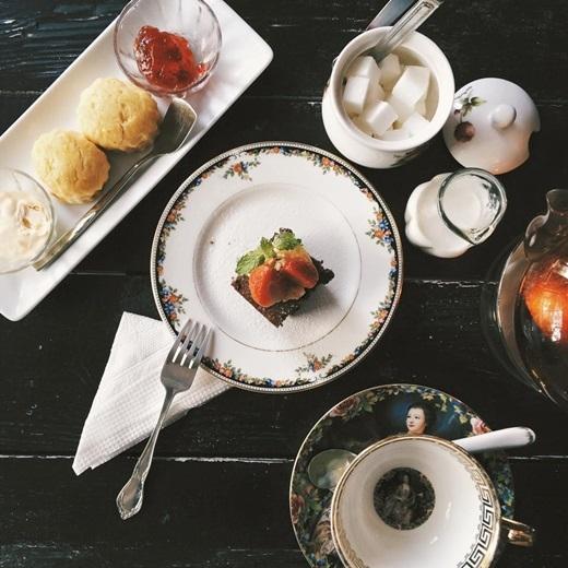 Những thành phần không thể thiếu cho một bữa tiệc trà chiều đúng chuẩn ở Teaspoon.(Nguồn: Internet)