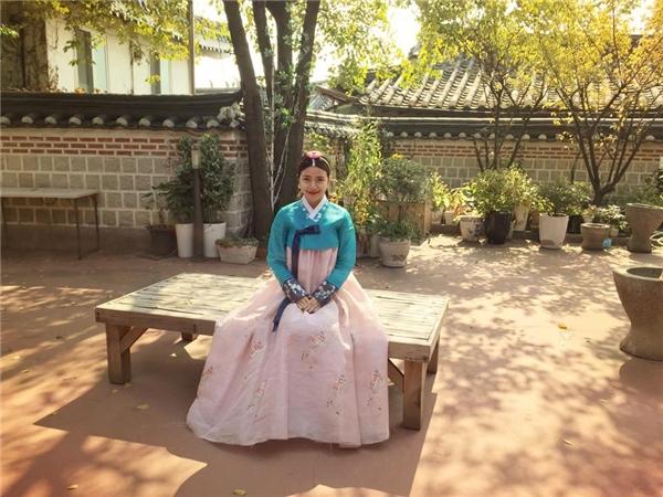 Xinh đẹp trong trang phục truyền thống Hàn Quốc. - Tin sao Viet - Tin tuc sao Viet - Scandal sao Viet - Tin tuc cua Sao - Tin cua Sao