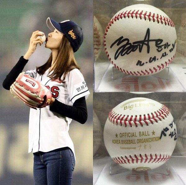 Phát sốt với hình ảnh 6 năm như 1 của Yoona trên sân bóng chày