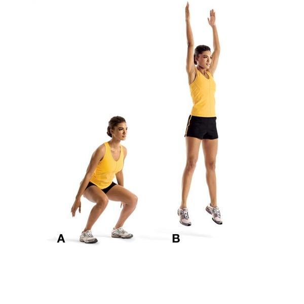 Phương pháp kiểm tra sức khỏe bằng cách nhảy cao.(Nguồn: Internet)