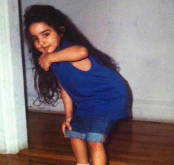 Laith Ashley De La Cruzlúc còn nhỏ.