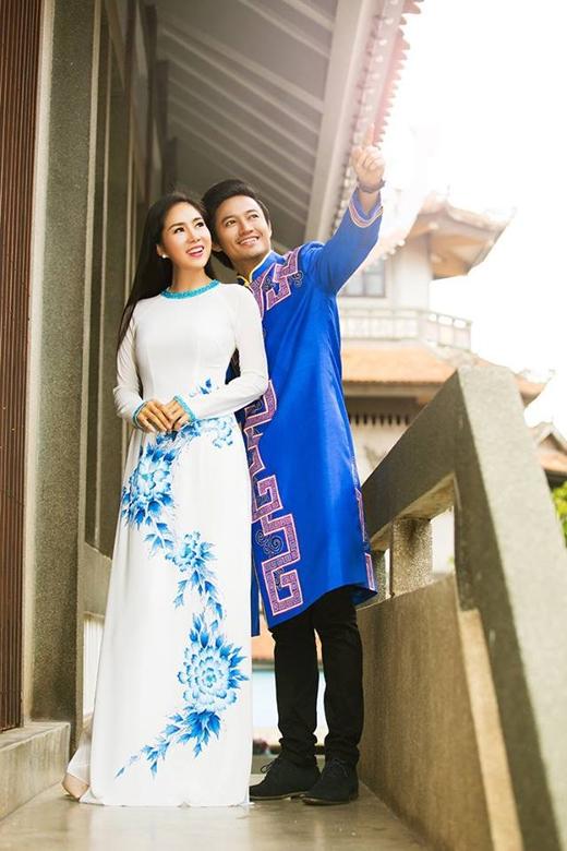 Quý Bình và Lê Phương dành cho nhau những cử chỉ thân mật trong bộ ảnh. - Tin sao Viet - Tin tuc sao Viet - Scandal sao Viet - Tin tuc cua Sao - Tin cua Sao