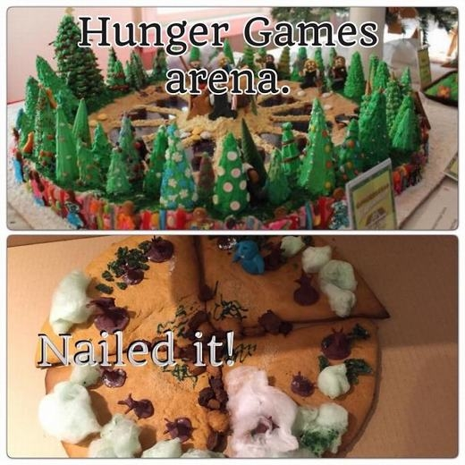 Có lẽ do tình trạng chặt phá rừng quá nhiều đã ảnh hưởng đến tâm trạng khi làm bánh! (Ảnh: Internet)