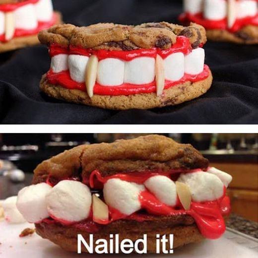 Có lẽ con quỷ phía dưới bị... sún răng! (Ảnh: Internet)