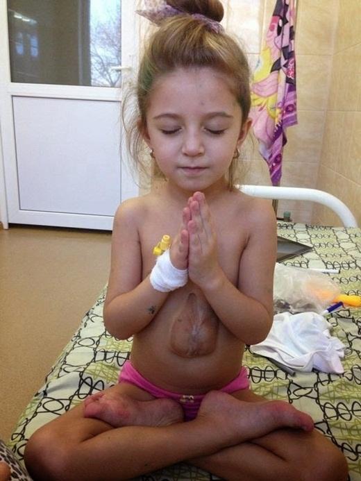 Cô bé Virsaviya. (Ảnh: Internet)