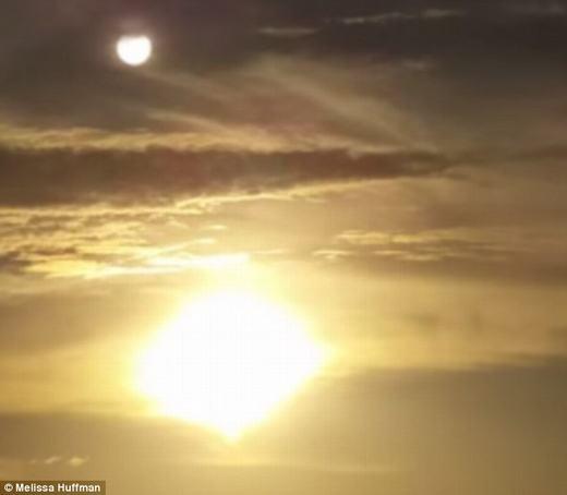 Cận cảnh Mặt trời thứ hai. (Ảnh: Internet)