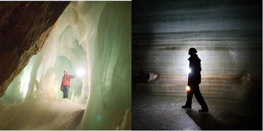 Đây còn là hang động băng rộng lớn nhất thế giới.(Nguồn: Internet)