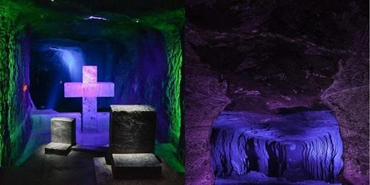 Trong nhiều năm, nhà thờ được những người thợ mỏ xây dựng để làm nơi cầu nguyện cho an nguy của họ trong môi trường làm việc nguy hiểm ở mỏ muối này.(Nguồn: Internet)
