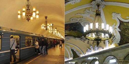 Ngày nay, tàu điện ngầm này có 197 ga, 9,28 triệu lượt người đi tàu mỗi ngày và nổi bật bởi thiết kế tinh xảo phản ánh một thời kì thịnh vượng của đất nước này.(Nguồn: Internet)