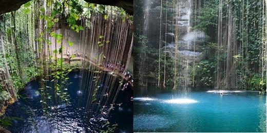 Nhiều phượt thủ hoặc những người yêu thích bơi lặn đều đánh giá đây là một nơi tuyệt vời cho hoạt động bơi lặn. Có ý kiến cho rằng đây từng là nơi người Maya cổ đại sử dụng để cúng tế thần linh.(Nguồn: Internet)
