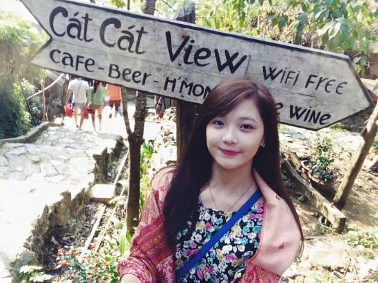 Những hình ảnh được Thu Hương ghi lại trong chuyến du lịch Sapa. (Ảnh: Internet)