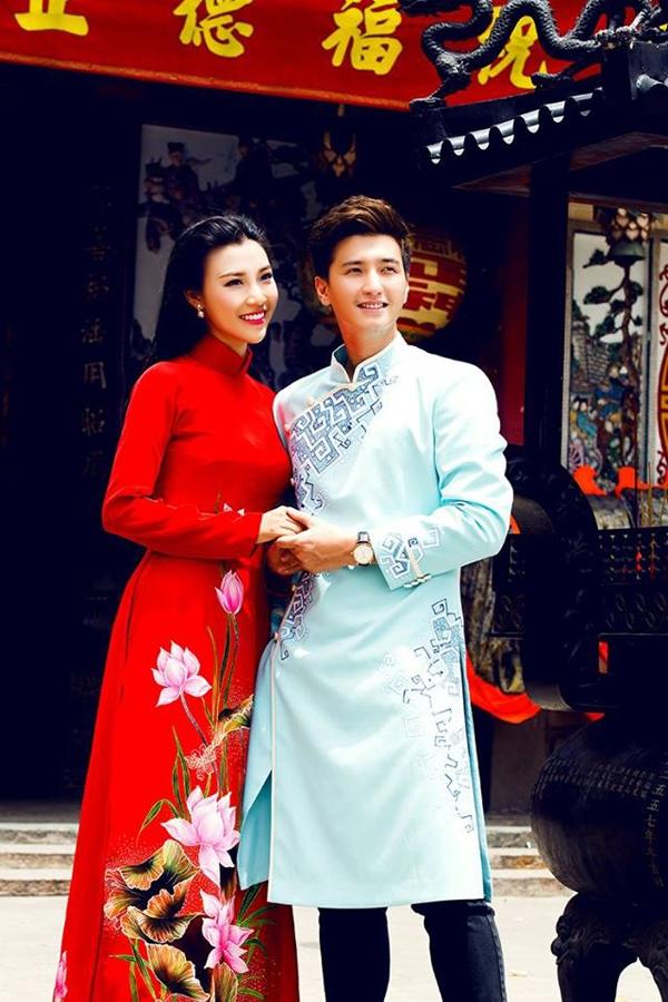 Cả hai cùng hóa thân thành cô dâu, chú rể trong bộ ảnh mới. - Tin sao Viet - Tin tuc sao Viet - Scandal sao Viet - Tin tuc cua Sao - Tin cua Sao
