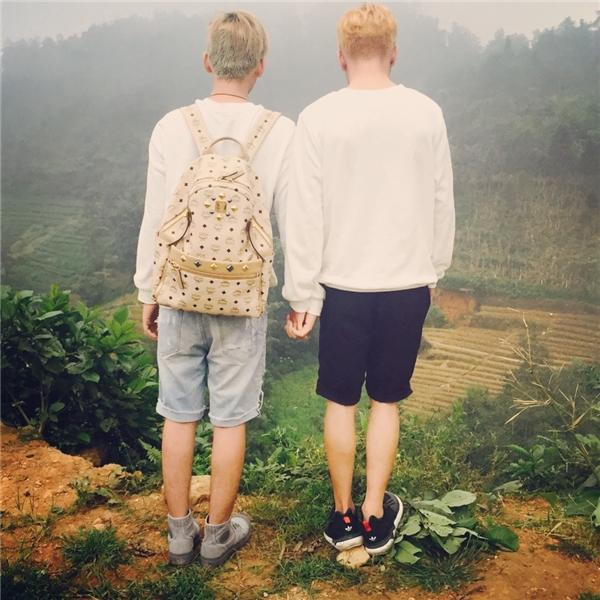 Cặp mĩ nam đồng tính siêu đáng yêu khiến dân mạng tan chảy