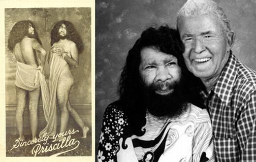 Percilla sinh ra vào ngày 26/4/1911 tại thị trấn Bayamon, thuộc thành phố Puerto Rico, Mỹ với cơ thể đầy lông lá. Với bề ngoài kì lạ, bà đã được cộng đồng chú ý, các nhà khoa học thường xuyên lui tới nghiên cứu. Percilla qua đời năm 2001, thọ 89 tuổi. (Ảnh: Oddee)