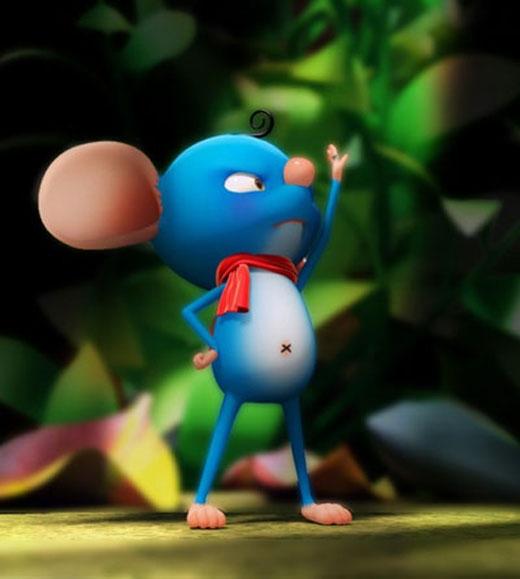 Chuột sợ hãi kêu gọi sự giúp đỡ của các con vật xung quanh, song chẳng ai màng quan tâm đến. (Ảnh: Dưới Bóng Cây)