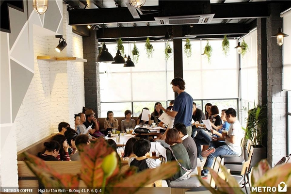 METRO 9 là địa điểm lí tưởng cho những buổi họp công ty...