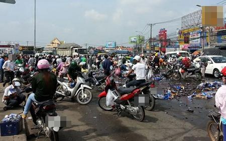 """Hình ảnh từ vụ """"hôi bia"""" kinh hoàng tại Đồng Nai vào năm 2013. Ảnh: Internet"""