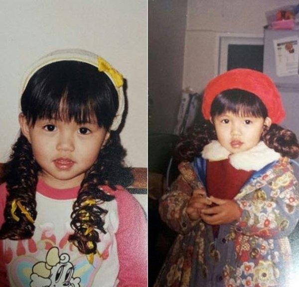 """Bức ảnh ngày nhỏ được chính Kim So Hyun công bố cho thấy vẻ đẹp từ """"trong trứng nước"""" của cô bé."""