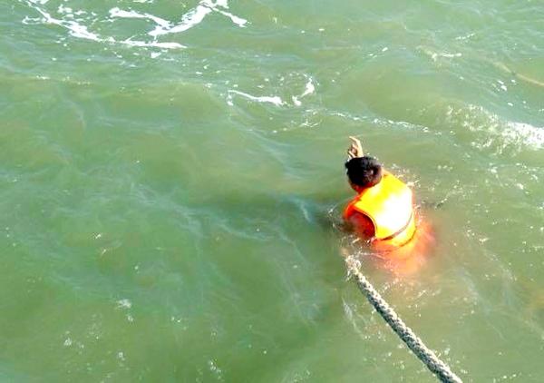 Giải cứu thành công nạn nhân trong vụ chìm tàu ở Cần Giờ